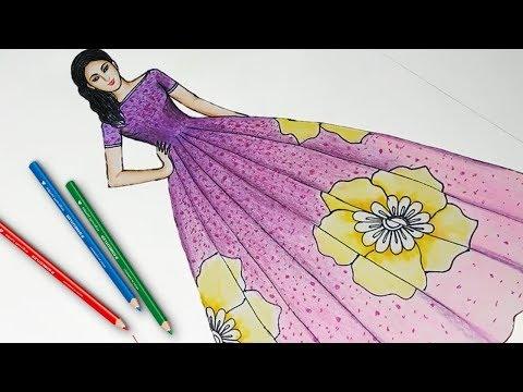 Dress Speed Art Plain And Simple Kurti Dress Tutorial In Corel Draw 2019 Chesta Designs