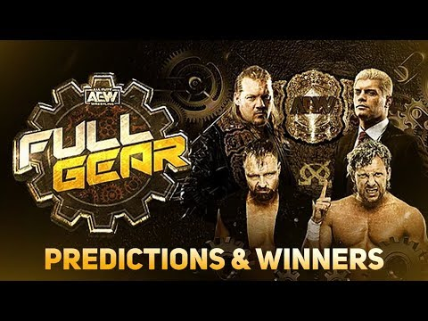 AEW Full Gear 2019 Highlights Winners Predictions (November 9 2019)