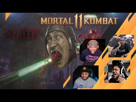 Gamers Reactions to Jade's FATALITY - Mortal Kombat 11 - 동영상