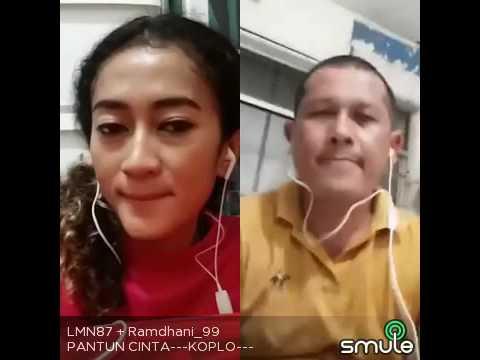 Duet smule Agus Gustaman Feat Lola KDI-PANTUN CINTA