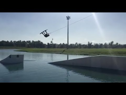 The Biggest Flip Transfer I Have Ever Done - JB ONeill - Wakeboarding
