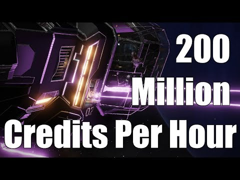 Elite: Dangerous - 200 Million Credits Per Hour