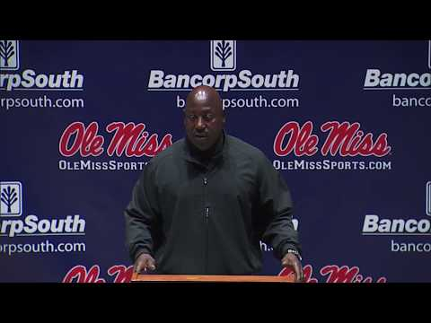 Ole Miss Football - Wesley McGriff Press Conference (10-16-17)