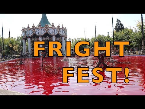 SIX FLAGS GREAT AMERICA FRIGHT FEST 9-16-17