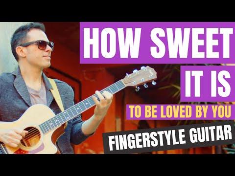 How Sweet It Is - Alberto Lombardi fingerstyle