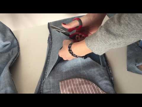Diy sexy jeans με κρίκο
