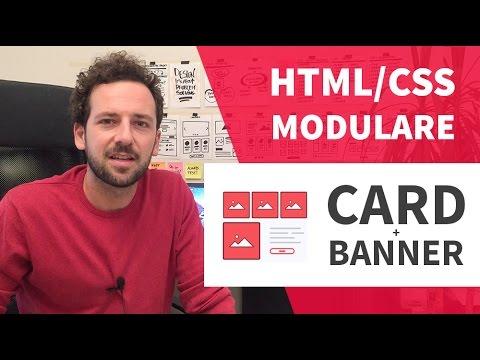 Creare Un Sito Html/CSS Modulare #3 - Cards E Banner