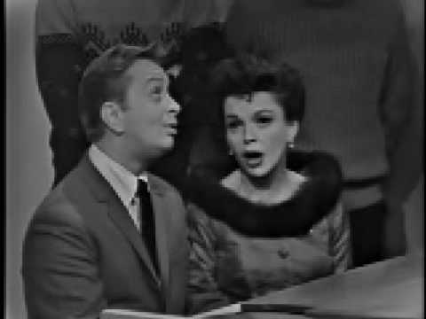 Mel Torme and Judy Garland