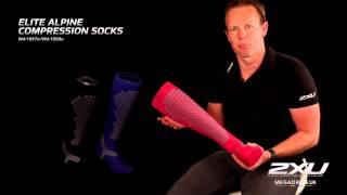 Компрессионные элитные носки Alpine MA1997e,  WA1998e