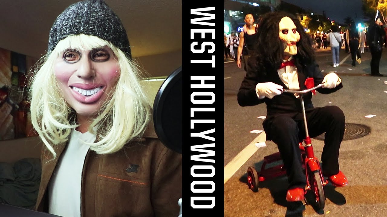 craziest halloween costumes in west hollywood vlog