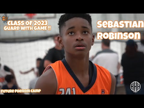 7th Grader Sebastian Robinson Out Of New Jersey Has GAME - Class Of 2023 // 2017 Future Phenom Camp