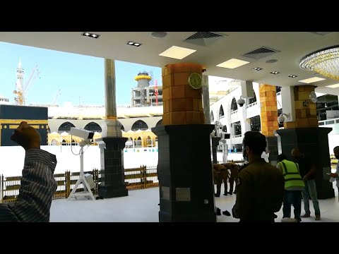 An amazing view of Kabah a few moments before Zuhar Prayer   Kabah Tawaf   zuhar Prayer from YouTube · Duration:  4 minutes 2 seconds