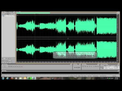Auditon 3: Splitting a Large Sound File