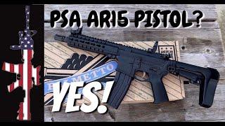 PSA AR15 Pistol Lower – Why?