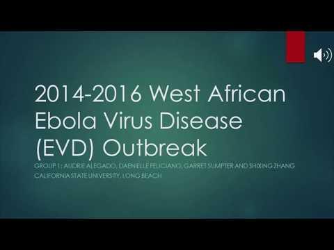 2014-2016 West African Ebola Virus Disease Outbreak