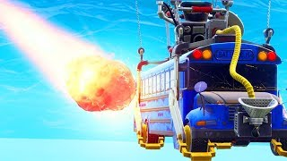 A METEOR HIT THE BATTLE BUS.. WTF! (Fortnite Funny Fails and WTF Moments) #9