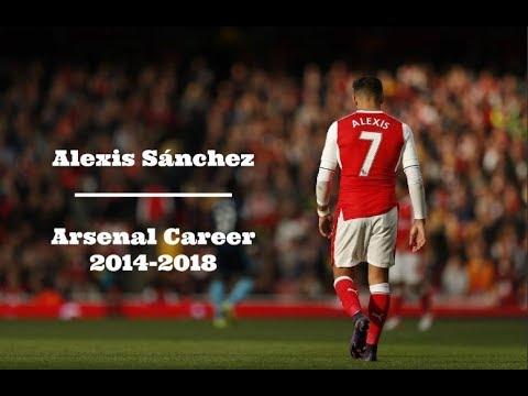 Alexis Sánchez - Arsenal Career | 2014-2018 | HD