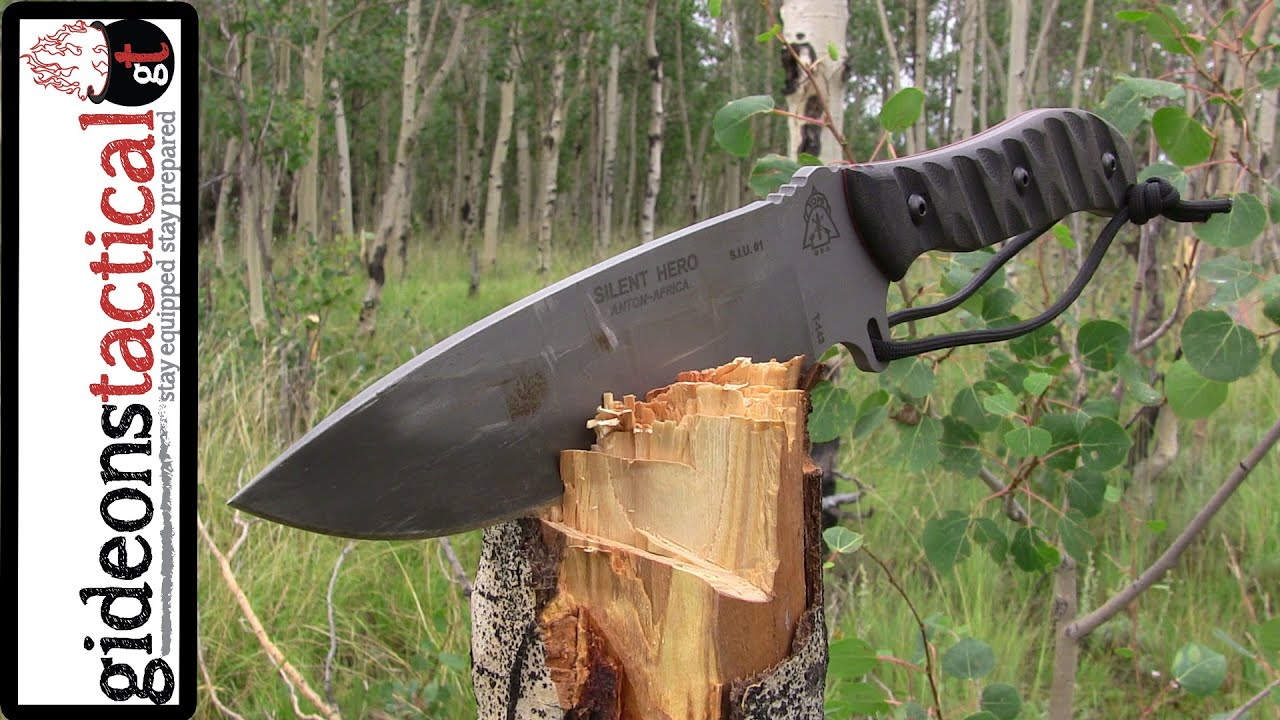 TOPS Knives Silent Hero: Best Survival Knife Of 2014