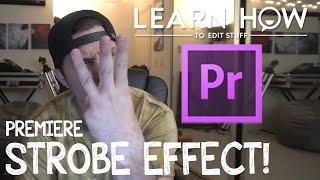 Adobe Premiere CC Strobe Efekti Oluşturmak İçin nasıl