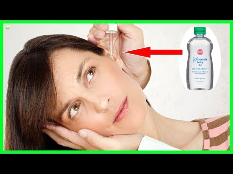 Ear Wax Removal - How To Use Baby Oil To Remove Ear Wax | Best Home Remedies