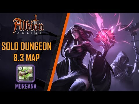 Albion Online | 8.3 Solo Random Dungeon | Morgana Dungeon - PVE Badon Build
