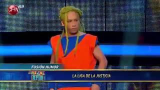 Fusion Humor En Hazme Reir - La Liga De La Justicia