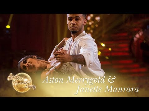 Ast and Janette Waltz to Cant Help Falling In Love  Strictly Come Dancing 2017