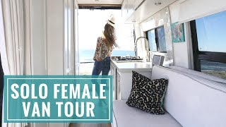 VAN LIFE TOUR: The Ultimate Solo Female Van | Wild by the Mile + 40 Hours of Freedom