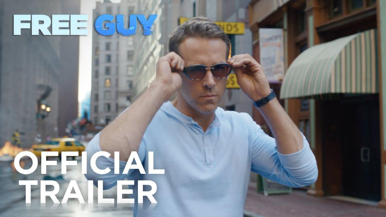 Free Guy trailer met Ryan Reynolds