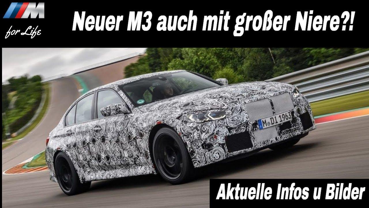 Neuer BMW G80/G82 M3/M4 mit gleicher Niere?! Neue Bilder und aktuelle Infos!