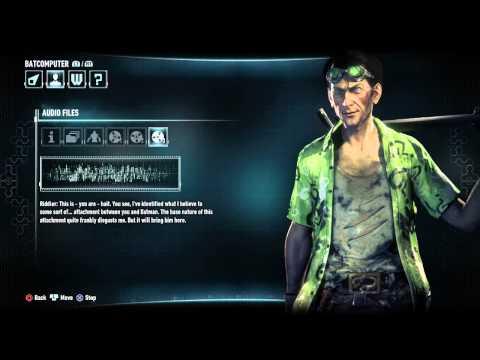 Batman: Arkham Knight playthrough: Bio Audio Logs