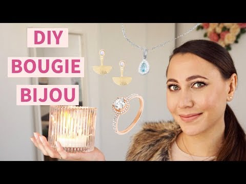 Comment faire un DIY bougie bijou ?