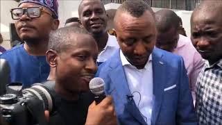 Pt 1: OMOYELE SOWORE JUNE 12 DEMOCRACY DAY LAGOS. #TAKEITBACK TV