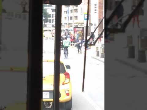 Uber eats delivery without Helmet in Bogota