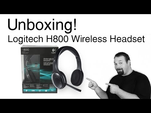Logitech H800 Wireless Headset Unboxing And Review