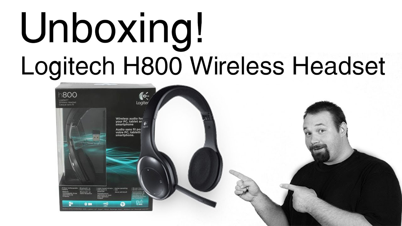 Nano receiver for wireless headset h800 - Logitech H800 Wireless Headset Unboxing And Review