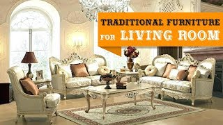 30+ Traditional Furniture Sets for Living Room