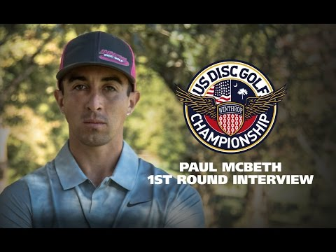 USDGC2015 First Round Interview - Paul McBeth