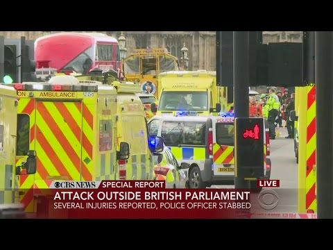 CBS News Special Report: Attack Outside British Parliament