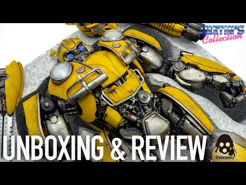 ThreeZero Bumblebee Premium Scale Transformers Unboxing & Review