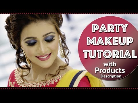 Step By Step Face Makeup Tutorial With Smokey Eyes