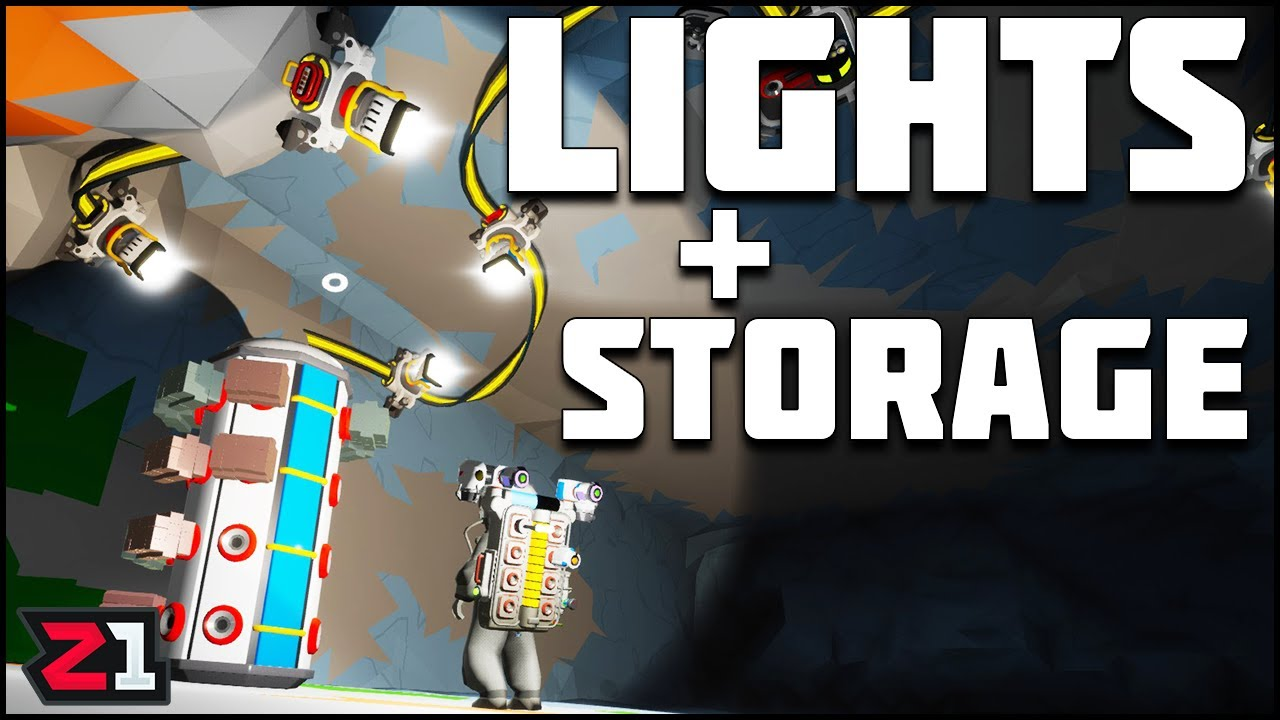 We NEED Lights and Storage ! Astroneer Exploration Update Ep 4 | Z1 Gaming