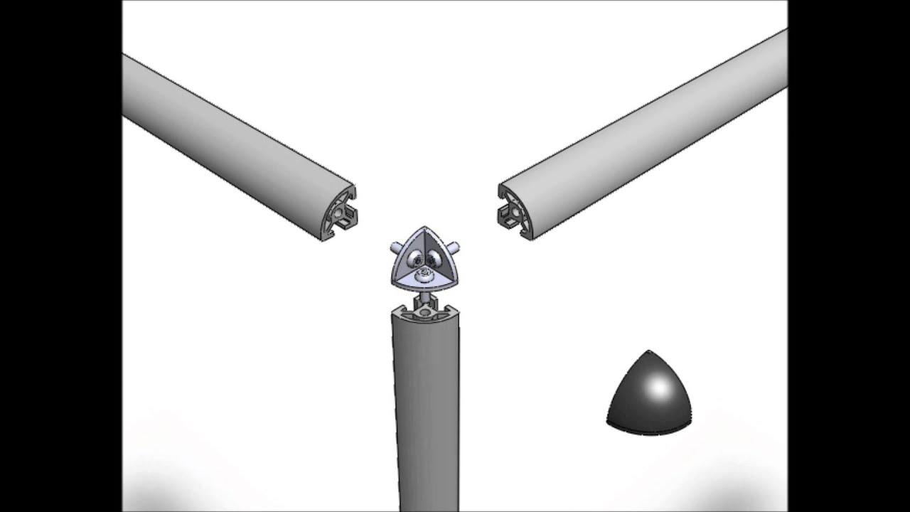 Meuble Profilé Aluminium Fabriquer Un Meuble Metal Et Bois Minibar
