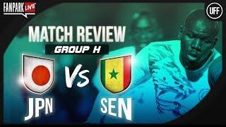 Japan 2-2 Senegal - Full Time Phone In - FanPark Live