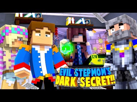 Minecraft EVIL STEPMOM'S DARK SECRET REVEALED - DAD KNOWS THE TRUTH!! Little Donny Roleplay