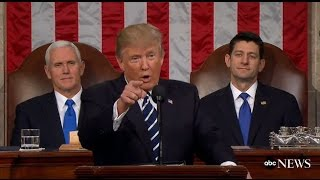LIVE: President Trump Speech to Congress | ABC News