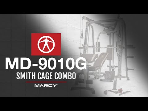 The Marcy Pro MD-9010G Smith Cage Combo