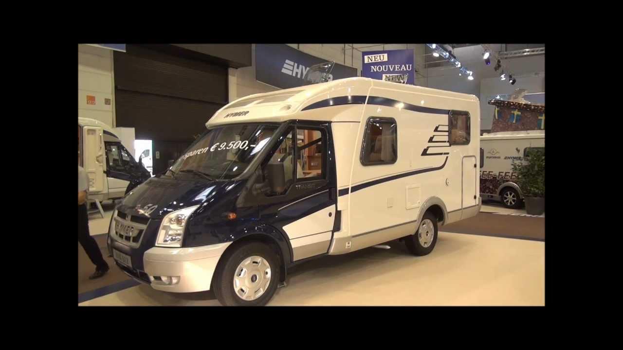 Hymer van at caravan salon dusseldorf youtube
