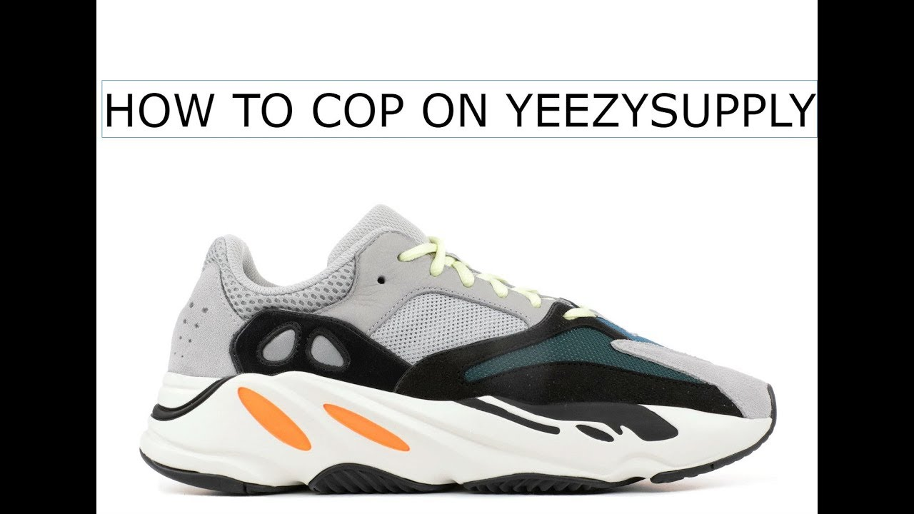 039192194 How To Cop Yeezy 700 Wave runners On Yeezy Supply - YouTube
