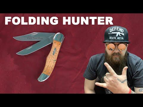 Складной нож модели Folding Hunter от WRCase